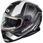 Matte White Thunder 3 SV Trace Snow Helmet w/Electric Shield - 36-21406