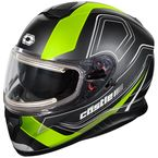 Matte Hi-Vis Thunder 3 SV Trace Snow Helmet w/Electric Shield - 36-21438