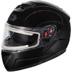 Black Atom SV  Modular Snow Helmet w/Electric Shield - 36-23002