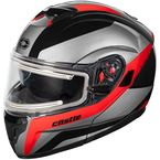 Red Atom SV Tarmac  Modular Snow Helmet w/Electric Shield - 36-23316