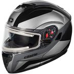 Black Atom SV Tarmac Modular Snow Helmet w/Electric Shield - 36-23356
