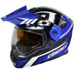 Blue/Black EXO-CX950 Slash Snow Helmet - 45-19224