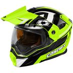 Hi-Vis/Black EXO-CX950 Slash Snow Helmet - 45-19234