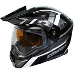 Black/Gray EXO-CX950 Slash Snow Helmet - 45-19254