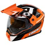Flo Orange/Black EXO-CX950 Slash Snow Helmet - 45-19276
