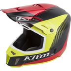 Red/Green/Black Ripper F3 Helmet - 3110-000-140-010