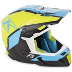 Green/Black/Blue F5 Ion Helmet - 3910-000-130-003