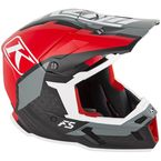 Red/Black/Gray F5 Ion Helmet - 3910-000-130-004