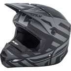 Matte Black/Gray Enterlace Elite Cold Weather Helmet - 73-4940-7-L