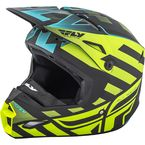 Black/Hi-Vis Interlace Elite Cold Weather Helmet - 73-4941-6-M