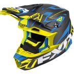 Black/Blue/Hi-Vis Blade Carbon Vertical Helmet - 180601-4065-10