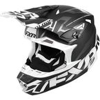 Black/White Blade Vertical Helmet - 180602-1001-07