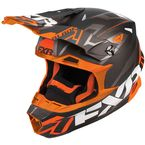 Black/Orange Blade Vertical Helmet - 180602-1030-19