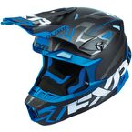 Black/Blue Blade Vertical Helmet - 180602-1040-13