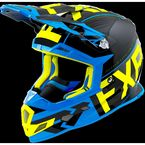 Black/Blue/Hi-Vis Boost Clutch Helmet - 180606-1040-13