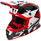 Red/White/Black Boost CX Prime Helmet - 180607-2001-13