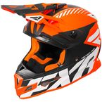 Orange/Black/White Boost CX Prime Helmet - 180607-3010-10