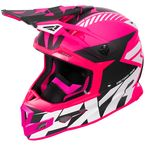 Electric Pink/Black/White Boost CX Prime Helmet - 180607-9410-16