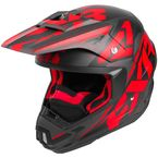 Black/Red/Charcoal Torque Core Helmet - 180621-1020-19