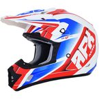 Red/White/Blue FX-17 Force Helmet  - 0110-5270