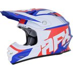 Red/White/Blue FX-21 Pinned Helmet - 0110-5322