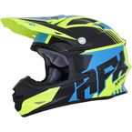 Black/Yellow/Blue FX-21 Pinned Helmet - 0110-5337