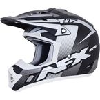 Frost Grey/BlackWhite  FX-17Y Youth Holeshot Helmet - 0111-1101
