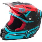 Red/Blue/Black F2 Carbon MIPS Forge Helmet - 73-4232L