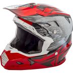 Red/Black Toxin MIPS Resin Helmet - 73-8522M