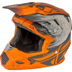 Matte Orange/Khaki Toxin MIPS Resin Helmet - 73-8528L