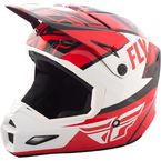 Red/White/Black Elite Guild Helmet - 73-8602M