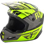 Hi-Vis/Gray/Black Elite Guild Helmet - 73-8605L