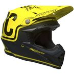 Fluorescent Yellow/Black Moto-9 Fasthouse Limited Edition Helmet - 7086292