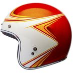 Metallic Orange/White Custom 500 Copperhead Limited Edition Helmet - 7086403