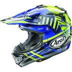 Blue VX-Pro4 Shooting Star Helmet - 806913