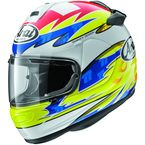 Yellow/Blue Vector 2 Aegerter Helmet - 807142
