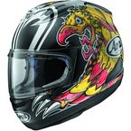 Black/Yellow/Red Corsair-X Nakasuga Helmet - 807553