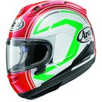 Red/White Corsair-X Statement Helmet - 807571