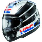 Black/Red/White Corsair-X HRC Helmet - 807584