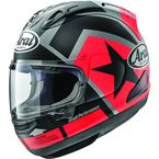 Black/Red Corsair-X Vinales-2 2017 Helmet - 807603