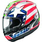 Red/White/Blue Corsair-X Nicky-6 Helmet - 814640