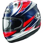 Red/White/Blue Corsair-X Vinales Helmet - 814653