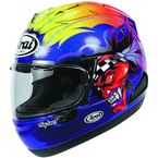Blue/Red/Yellow Corsair-X Russell Helmet - 816130