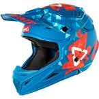 Blue/Red GPX 4.5 V22 Helmet - 1018200223