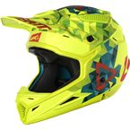 Youth Lime/Teal GPX 4.5 V22 Helmet - 1018200251