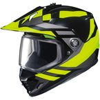 Hi-Viz Neon/Black DS-X1 Lander MC-3H Snow Helmet - 513-934