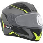Matte Black/Gray/Yellow RR610 Insert Snow Helmet - 503373#