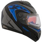 Blue Tranz RSV Blue Modular Snow Helmet w/Electric Shield - 508844#