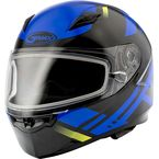 Black/Blue FF49 Berg Snowmobile Helmet w/Electric Shield - G2493216 TC2 ELEC