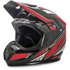 Youth Black/Red MX46 Uncle Helmet - G3467201 TC-1